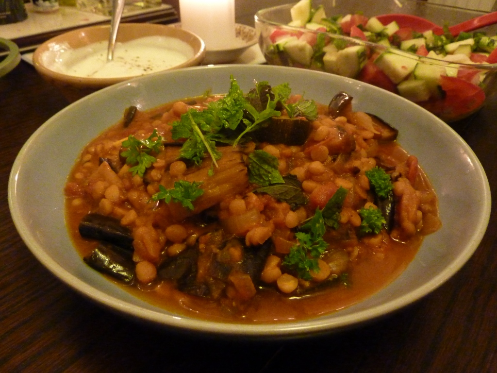 Khoresh bademjan persian aubergine stew beach house for Ancient persian cuisine