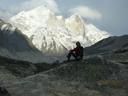 Up in the Himalayas, near the source of the Ganges, 2010