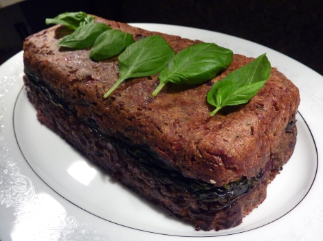 Roast Chesnut and Spinach Terrine