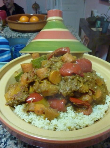 Tarifan Vegetable Tagine