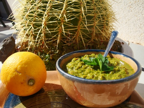 greenPOWsauce (or Salsa Verde)