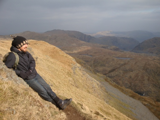 From the top of Knicht - Snowdonia, Wales