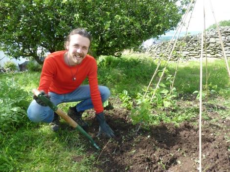 Last years gardening adventures, in sunnier times