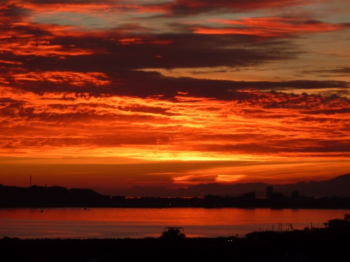 Spanish sunset - we spend some winters in Murcia