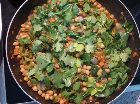 Simple Chickpea Stew