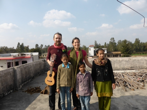 Staying with a lovely family in Uttar Pradesh, India '13