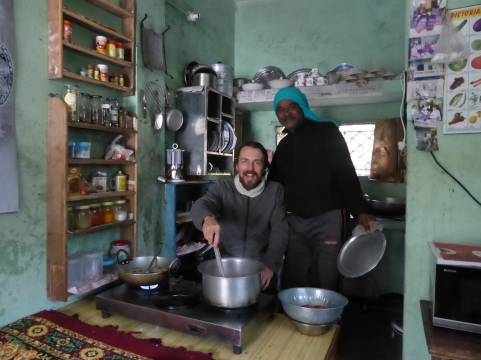 Cooking up a monsoon, Rishikesh, 1/14