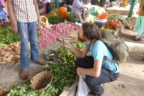 Haggling at Kodai Market
