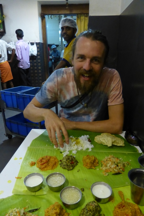 It's Thali time!!!! (South Indian style), Madurai, 3/14