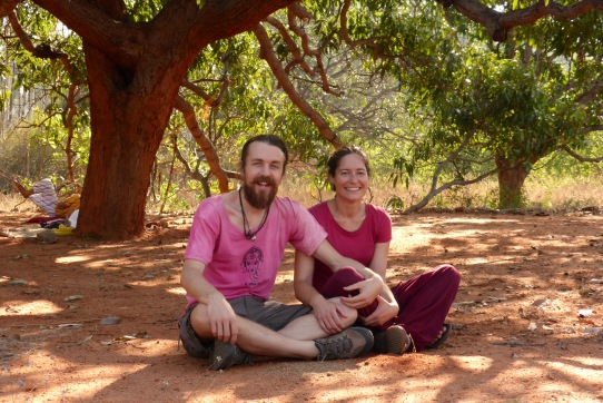 Under the Big Tree - Sivananda Ashram Madurai, 3/14