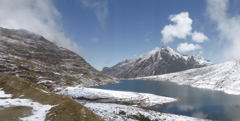 Tawang Lake, way up in the Himalayas, Arunachal Pradesh, 4/14