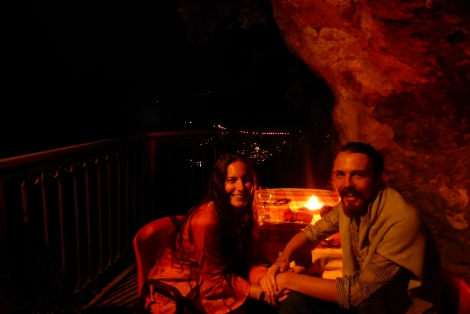 Our favourite dinner spot, in a cave! - Nochelle, Amalfi