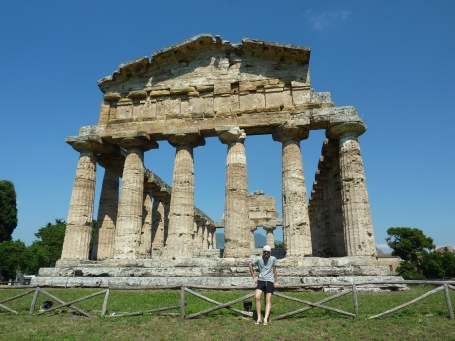 Temple of Poseidon - The Ancient City of Paestum (600BC!), Campania