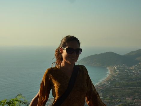 Jane in Campania, Italy '14 (one of our favourite places)