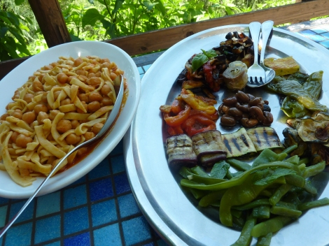 Last but certainly not least, antipasti and pasta! - Mama made it, Morigerati, Campania