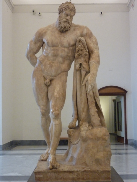 The awesome Hercules - National Museum, Napoli