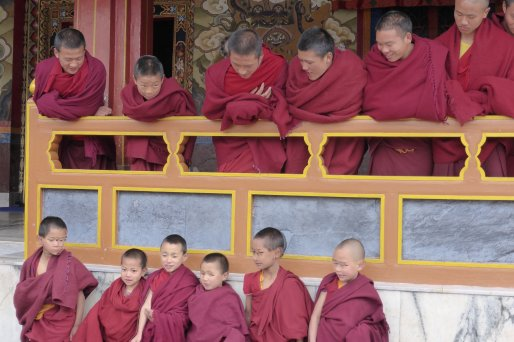 Tibetan Monks, Tawang Monastery - March '14
