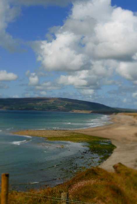 Hell's Mouth Beach, Llyn Peninsula - Ideal picnic spot for sauerkraut scoffing