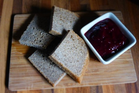 Very easy Blackberry Compote