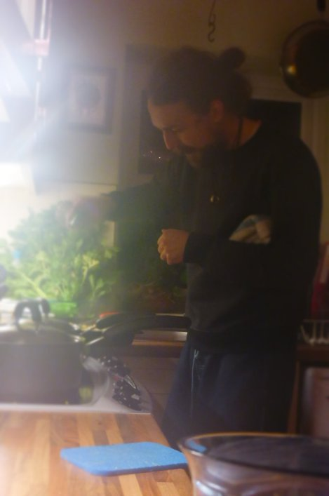 Steamy kitchen action, Welsh cottages not cut out for heavy wok action