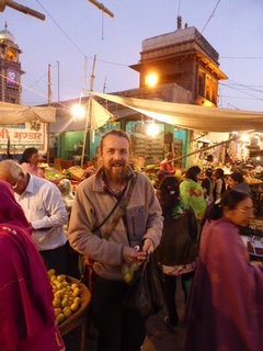 Shopping for veggies in Jodphur, India '15