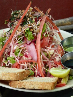 The Pyramid Salad - Rishikesh Classic