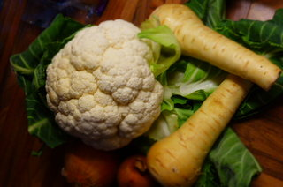 Some proper British veg