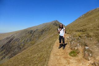 The great British outdoors - Up a Welsh hill, Snowdonia