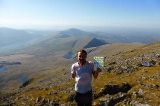 Peace and Parsnips climbed Snowdon recently