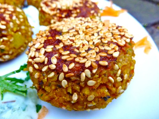 Egyptian Fava Bean Falafels