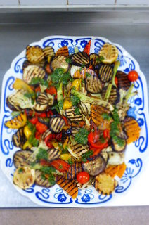 Flamegrilled Vegetables with Chermoula (Recipe from Peace and Parsnips)
