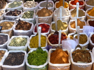 Indian spices, down at the market
