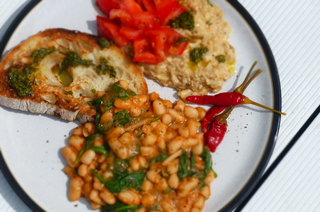 Italian Brunch Beans
