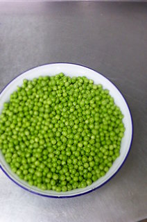 Gorgeous summer peas - post pod