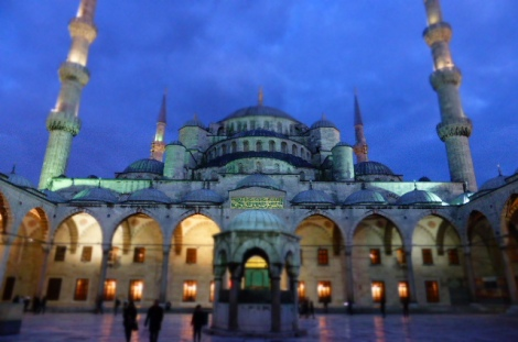 The enchanting Blue Mosque, Istanbul