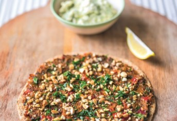 Lazy Lahmacun - One of our Turkish favourites.