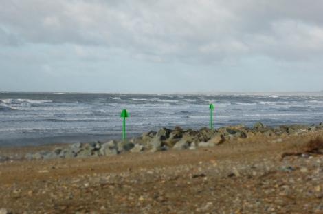 Dinas Dinlle beach on a sunny day - fresh, fresh air