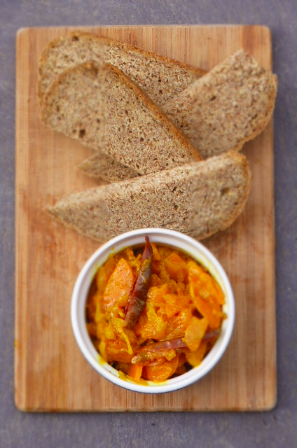 Quick and easy - Carrot and Ginger Pickle