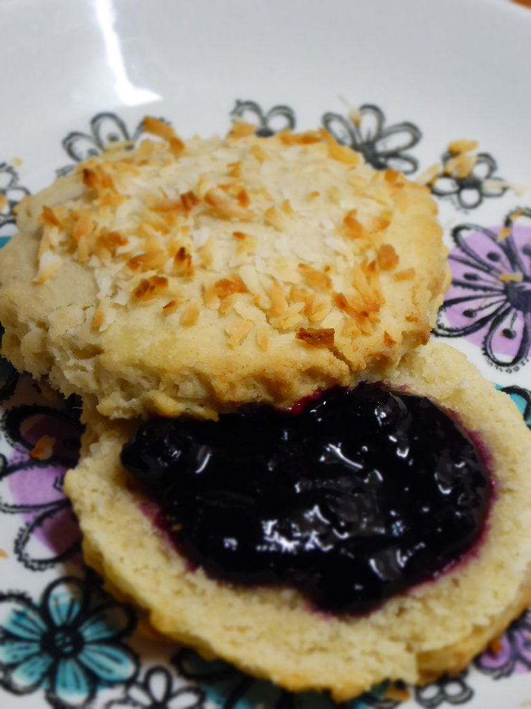 Coconut Scones (Vegan)