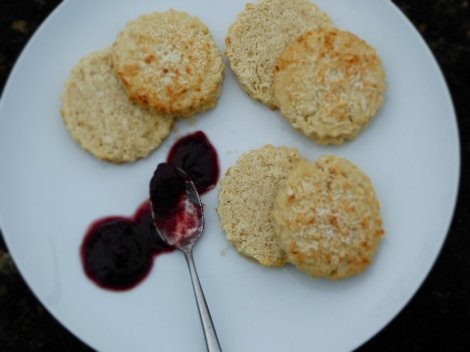 Coconut Scones - one ain't enough!;)