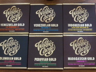 Willie's Cacao specialise in sourcing amazing cacao beans and allowing their individual characters to shine through.