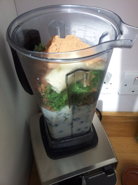 Blitz it up!  The better the blender, the better nutrition.  All the good bits break down and are easier for the body to use.