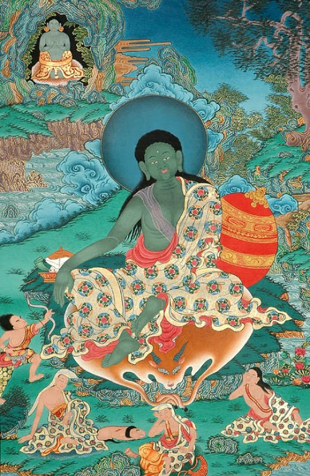 Milarepa - Green after a few too many nettles