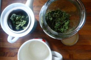Nettle tea - 2015 vintage