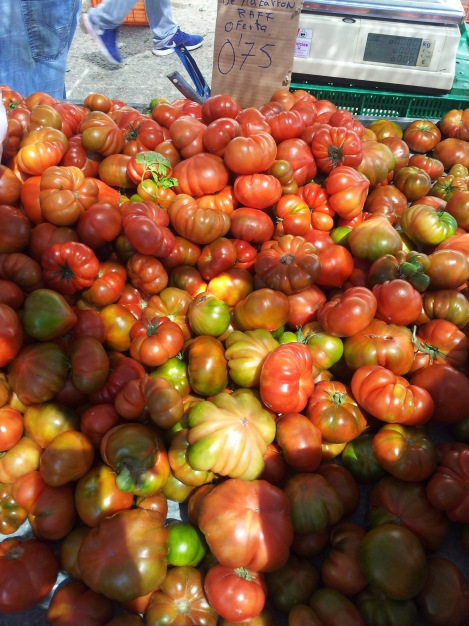 Tomatoes - so many new types to try in Murcia