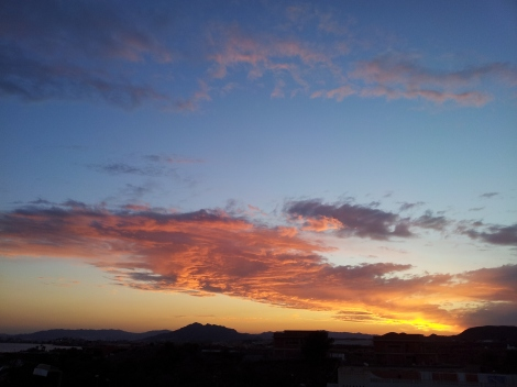Mazarron sunsets are regularly a bit special