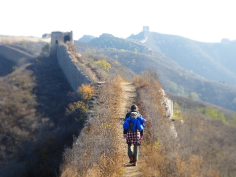 Has anyone ever walked the great wall of china