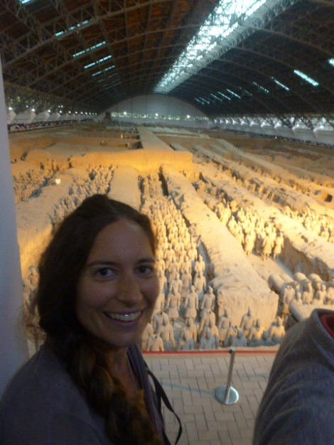 With the Terracotta Army, Xi'an