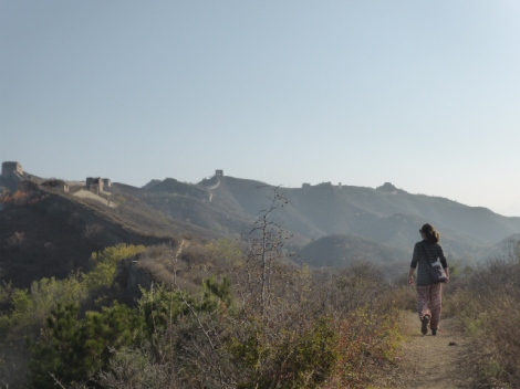 It's a long walk!  The Great Wall;)