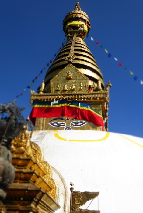 Monkey Temple Stupa - Kathmandu